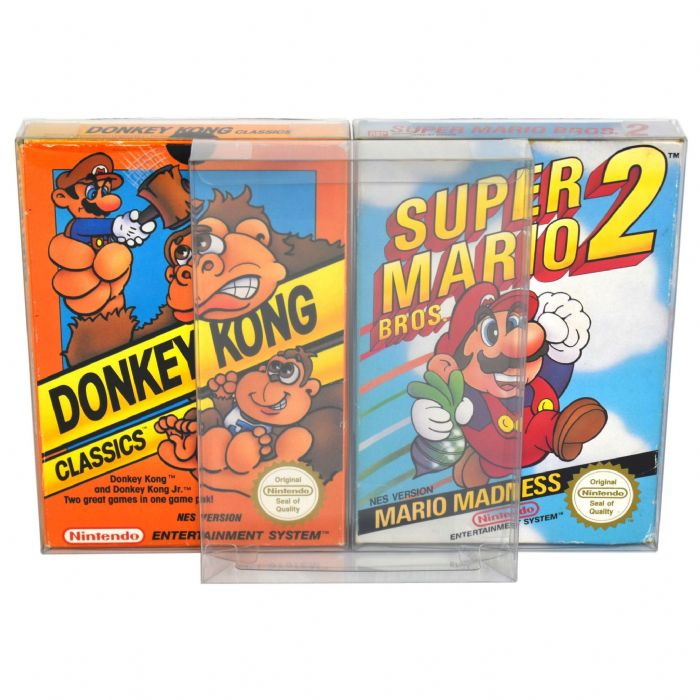GP9 NES Game Box Protectors